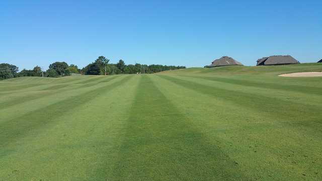 A view from a fairway at Fair Oaks Golf Club.