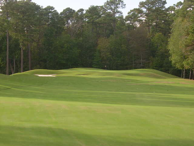 A view of the 13th green and faiway at Emerald Golf Club