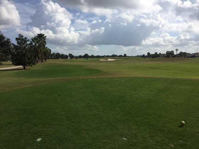 A view from a tee at Southern Star from The Villages Executive Golf Trail (Carl Angleberger)
