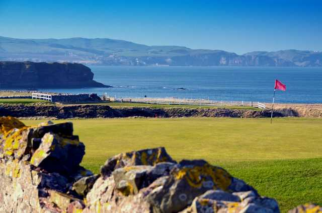 A view from Eyemouth Golf Club