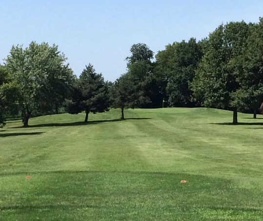 A view from a tee at Albany Country Club (Tammy Dodge Peterman).
