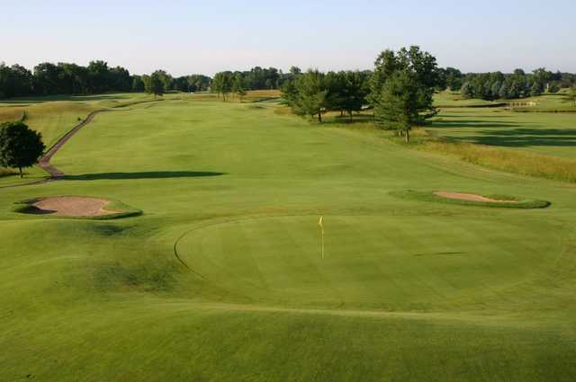 A view of the 6th hole from Gold at Saskatoon Golf Club.