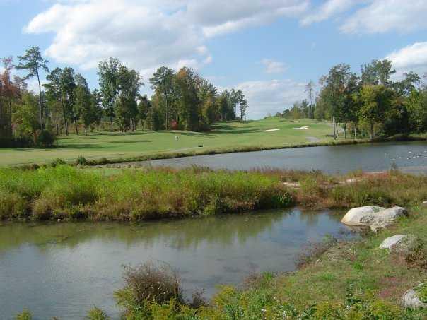 A view of hole #3 at River Ridge Golf Club