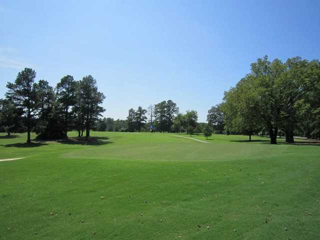 A view of the 9th green at Wil-Mar Golf Club