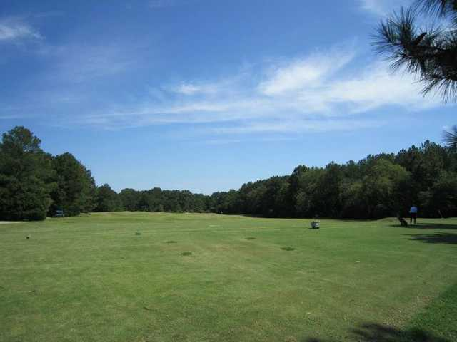 A view of the driving range at Wil-Mar Golf Club