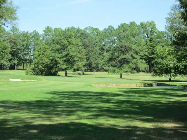 A view of hole #15 at Wil-Mar Golf Club