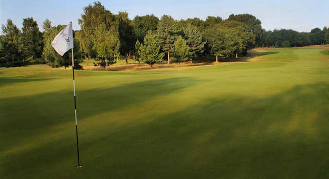 A view from a green at Serlby Park Golf Club