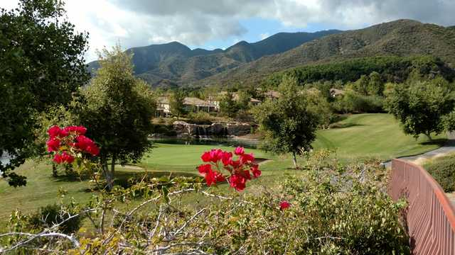 View of a green at Glen Ivy Golf Club