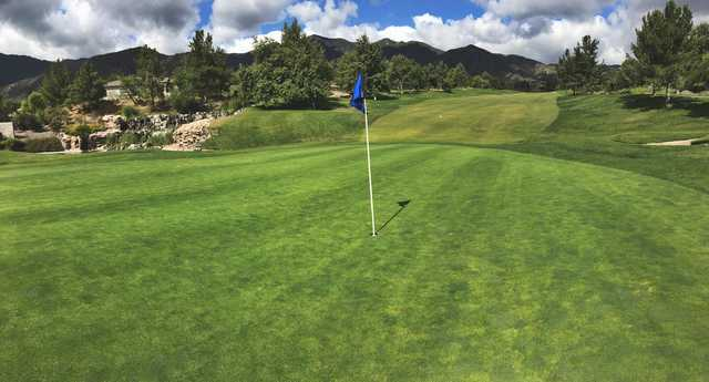 View from a green at Glen Ivy Golf Club