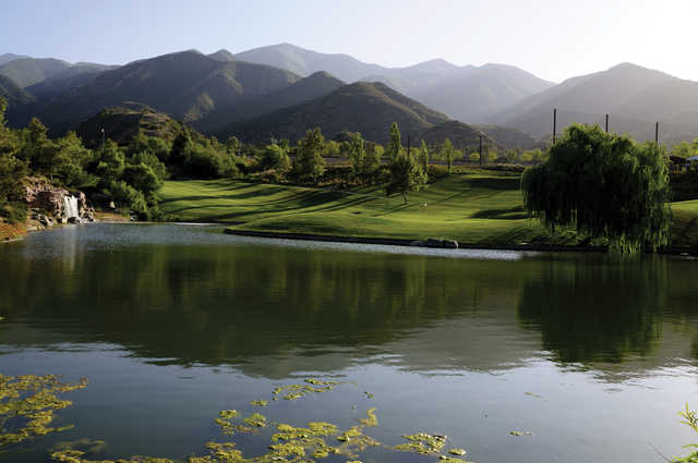 A view from Glen Ivy Golf Club