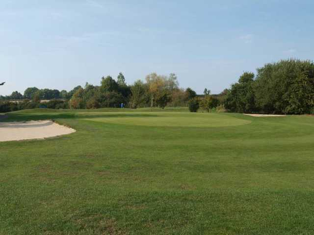 View of the 12th green at Long Sutton Golf Club