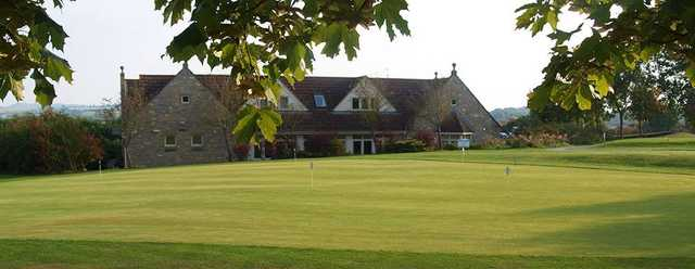 View of the putting green at Long Sutton Golf Club