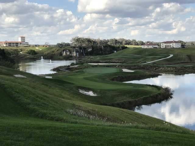 View of the 15th green at Adena Golf & Country Club (Mike Lowe)