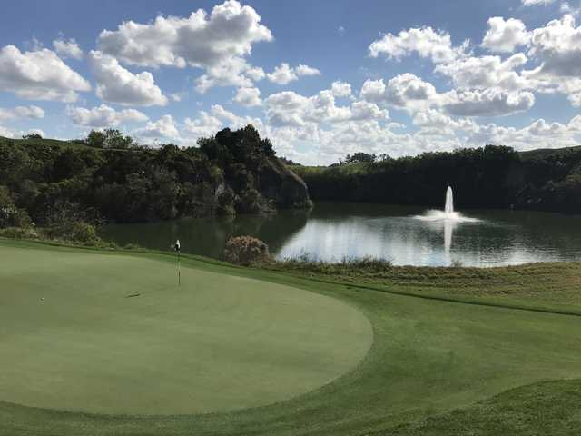 View from the 8th green at Adena GCC (Mike Lowe)