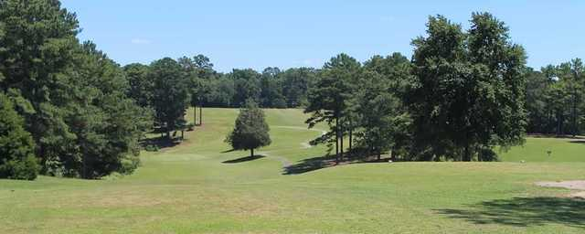 View from Indian Oaks GC's first hole