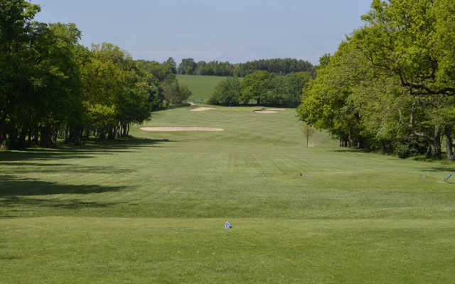 A view from a tee at Horsforth Golf Club.
