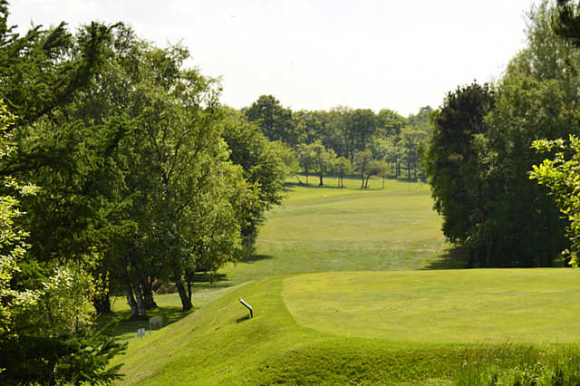 A view from the 16th tee at Horsforth Golf Club.