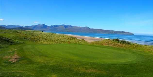 A view of green #5 at Castlegregory Golf Club.
