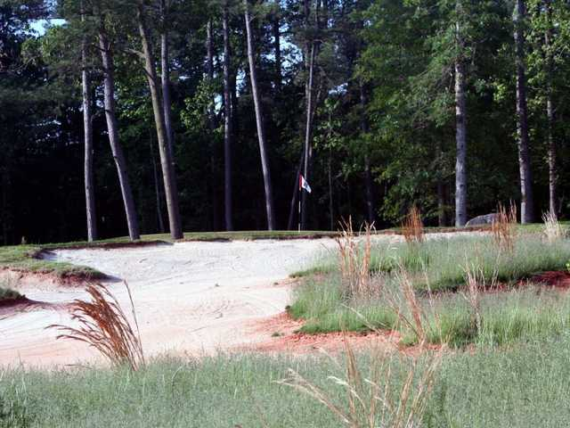 A view of hole #10 from Lonnie Poole Golf Course