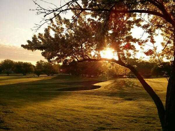A sunny day view from Robert A. Black Golf Club.