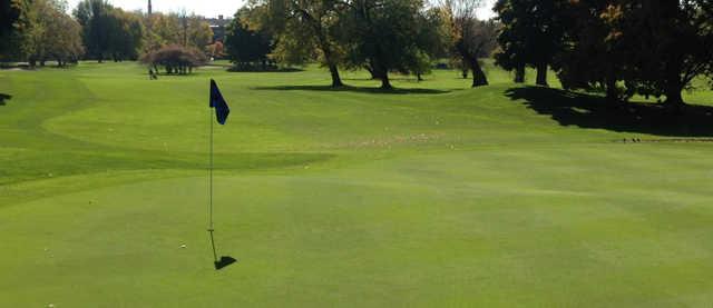 A view of a hole at Robert A. Black Golf Club.