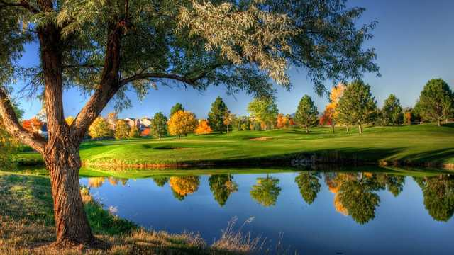 A splendid fall day view from Willow Crest Golf Club.