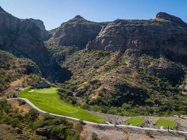 View of the 3rd hole at TPC Danzante Bay