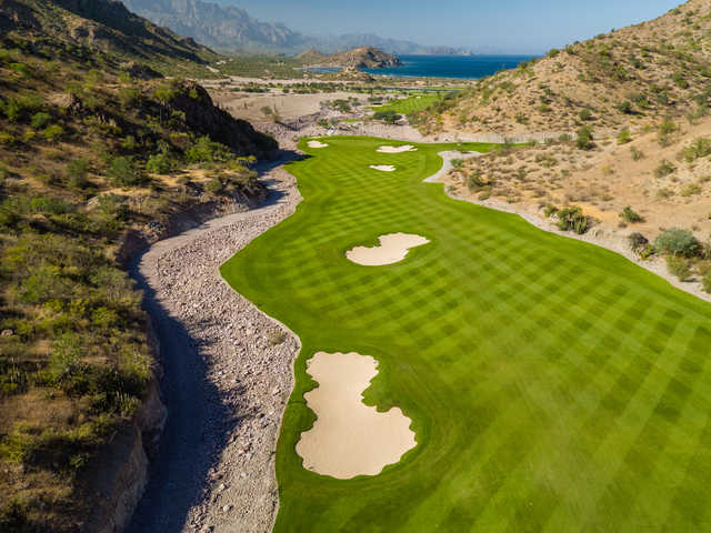 View of the 5th hole at TPC Danzante Bay