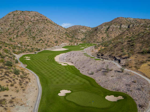 View of the 6th and 7th holes at TPC Danzante Bay