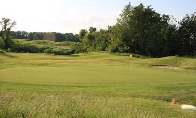 A view of green #17 at The Course at Aberdeen.