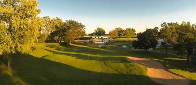 A view of a hole at Hartford Golf Club.