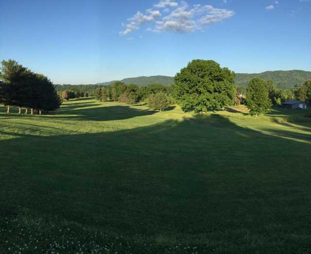 A view from Bays Mountain Golf Club