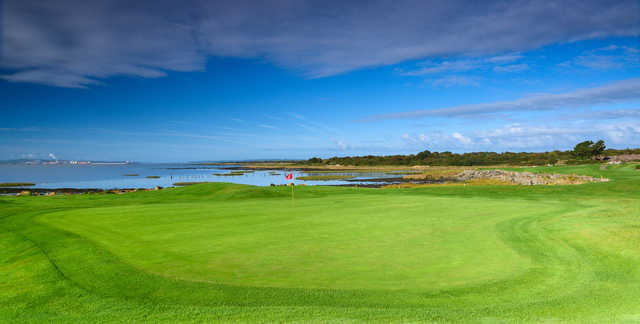 Looking back from the 17th hole at Shannon Golf Club.