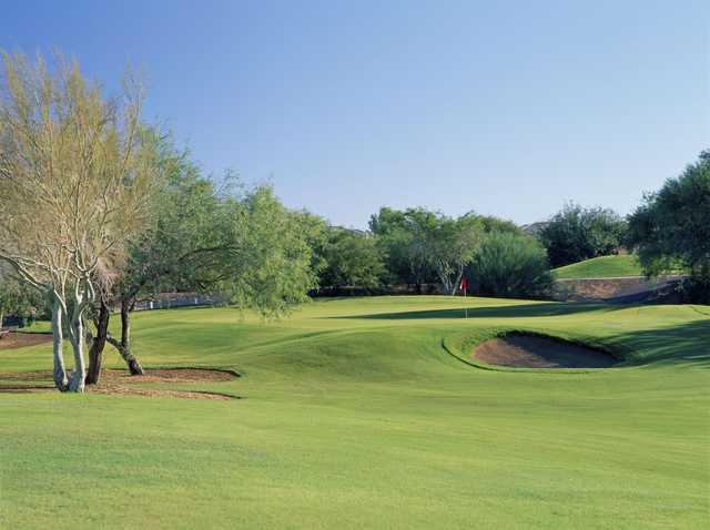 A view of a hole at Conquistador Course from El Conquistador Golf & Tennis.