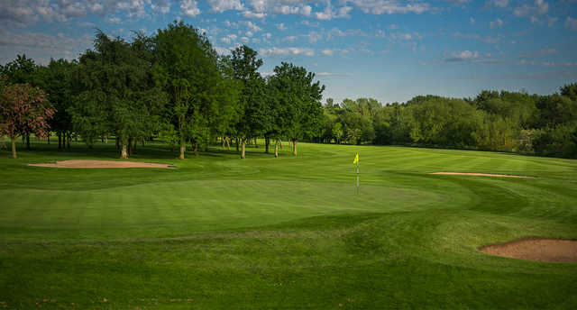 A view of a green at Branston Golf & Country Club.