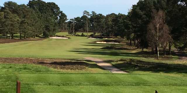 A view from tee #4 at Old Course from Ferndown Golf Club.