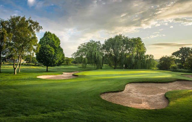 A view of the 14th hole at Harrogate Golf Club.