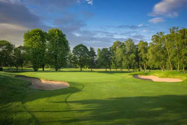 A view of the 10th green at Harrogate Golf Club.