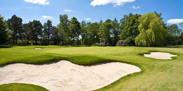 A view of the 9th hole at York Golf Club.