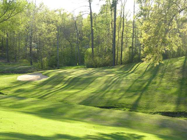 View of a green at Belle Meade Country Club