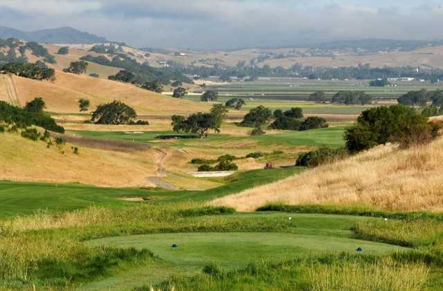 View from the 13th tee at San Juan Oaks Golf Club