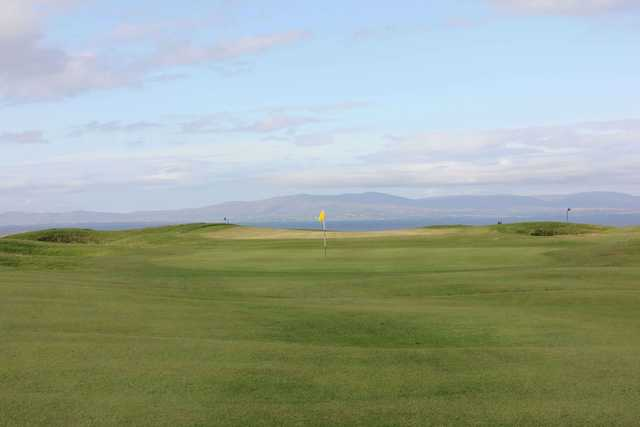 A view of a hole at Bundoran Golf Club.