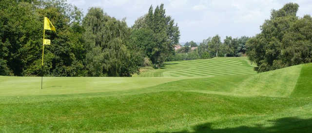 A view of a hole at Aspley Guise & Woburn Sands Golf Club.