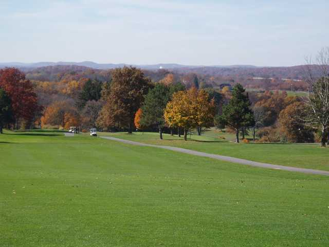A view from Stony Ford Golf Course