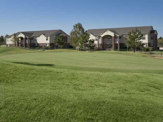 View of a green from The Links at Oklahoma City Golf & Athletic Club