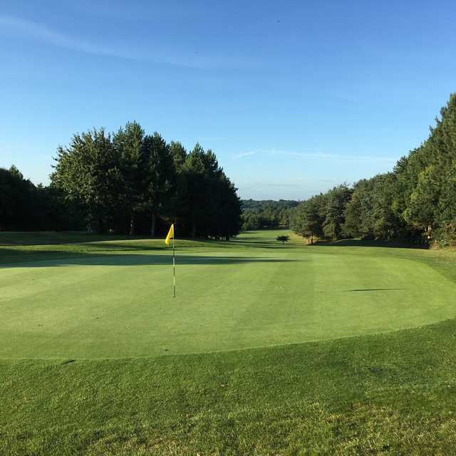 View from a green at Seckford Golf Club