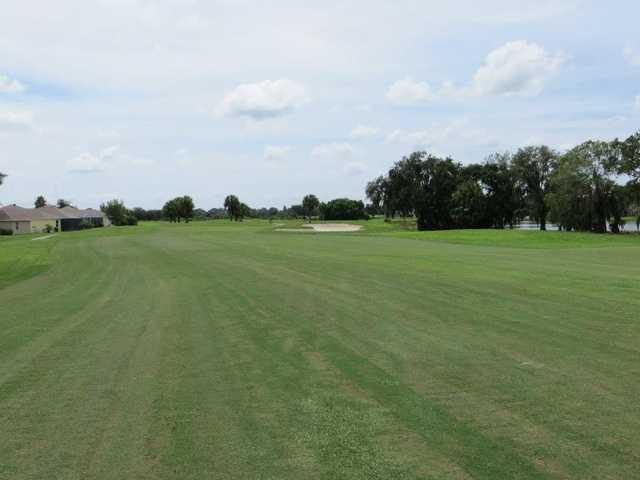 A view from a fairway at The Links at Greenfield Plantation.