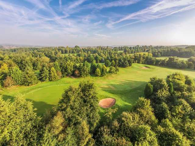 A view from Bromsgrove Golf Centre