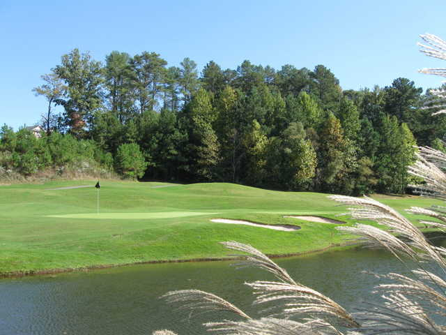 A view of a hole at Jennings Mill Country Club.