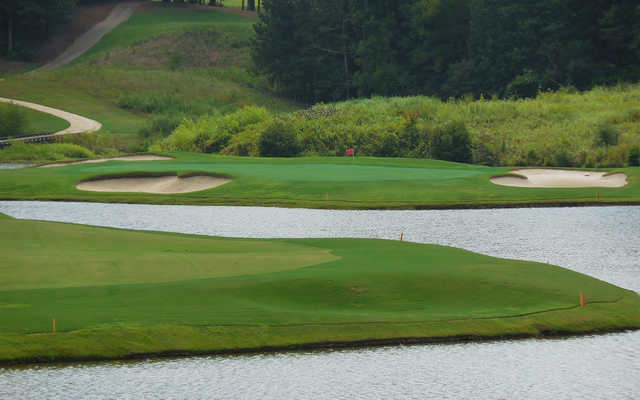 A view over the water from Milton Country Club.